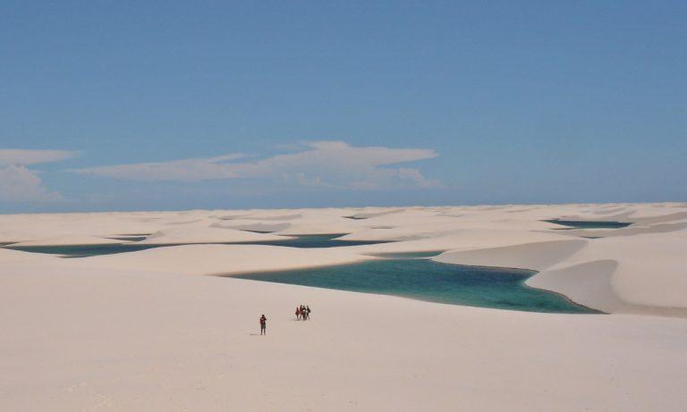 Seis melhores dunas no Brasil