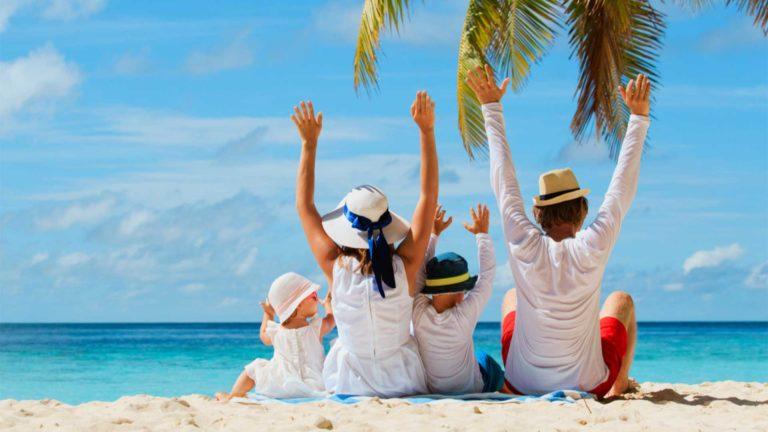 Os 15 melhores destinos para viajar em família